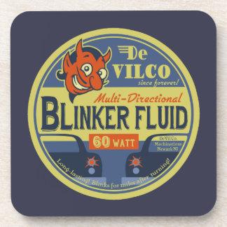 DeVilCo Blinker Fluid Drink Coaster