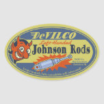 DeVILCO Left-Handed Johnsons Oval Sticker