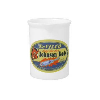 DeVILCO Left-Handed Johnsons Beverage Pitchers