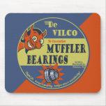DeVILco Muffler Bearings Mouse Pads