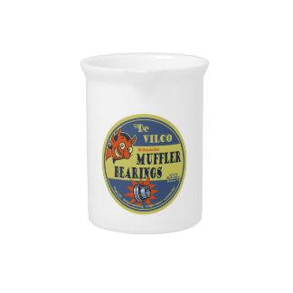 DeVILco Muffler Bearings Beverage Pitcher