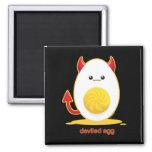 Deviled Egg 2 Inch Square Magnet