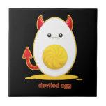 Deviled Egg Ceramic Tiles