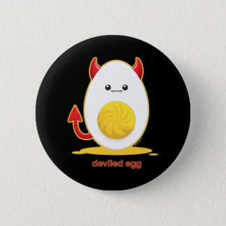 Deviled Egg Pinback Button