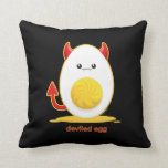 Deviled Egg Throw Pillows