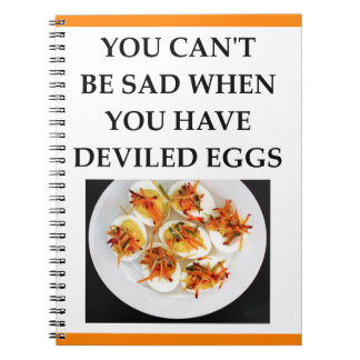 DEVILED eggs Notebook