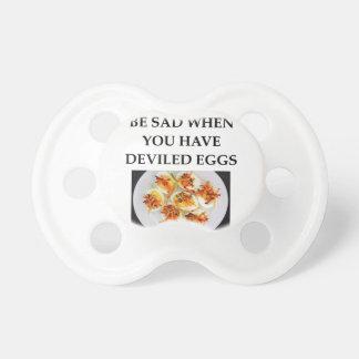 DEVILED eggs Pacifier