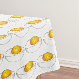 Deviled Eggs Picnic Food Cooking Kitchen Foodie Tablecloth