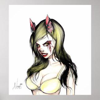 DevilGirl01 Poster