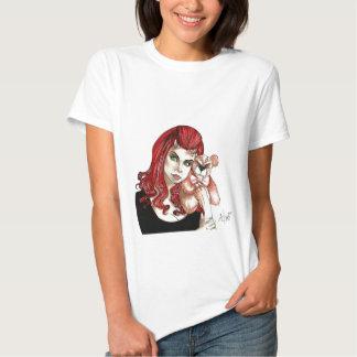 DevilGirl and her Teddy Shirt