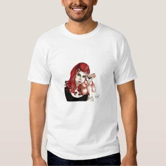 DevilGirl and her Teddy T Shirt