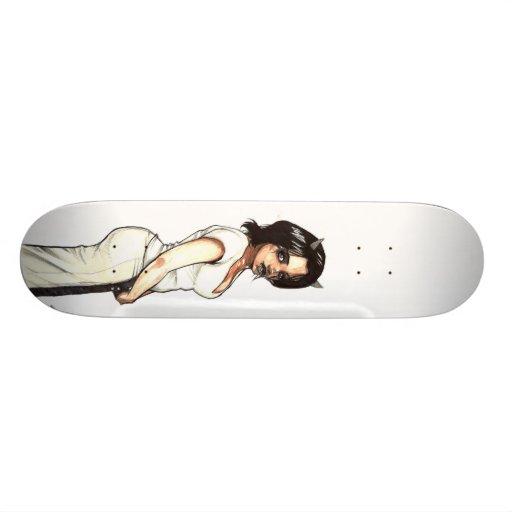 DevilGirl Zena Skate Decks