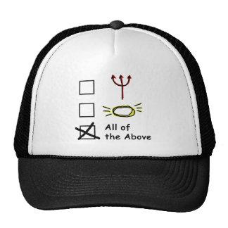 Devilish Angel Trucker Hat