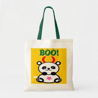 ♫♥Devilish BabyPanda Budget Tote Bag♥♪