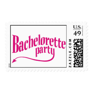 Devilish Bachelorette Party Postage Stamp