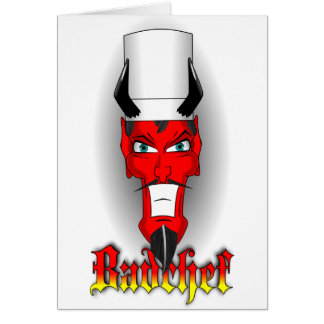 Devilish Badchef Card