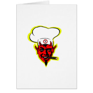 Devilish Chef Card