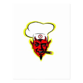 Devilish Chef Postcard