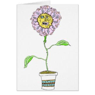 Devilish Daisy Flower Card
