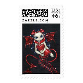Devilish Fairy Stamp