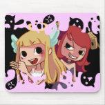 Devilish Hairdresser Mouse Pad