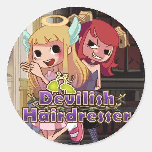 Devilish Hairdresser - Stickers