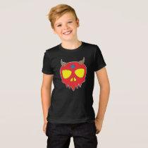Devilish Skull Design T-Shirt