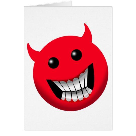 Devilish Smile Card