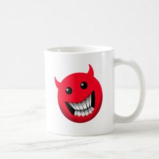 Devilish Smile Classic White Coffee Mug