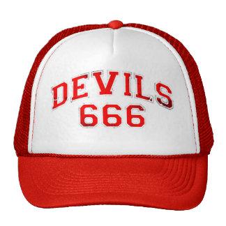 Devils 666 trucker hat