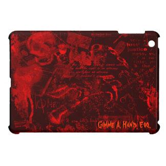 Devil's Advocate in Red+Black (Personalized Mini) Cover For The iPad Mini