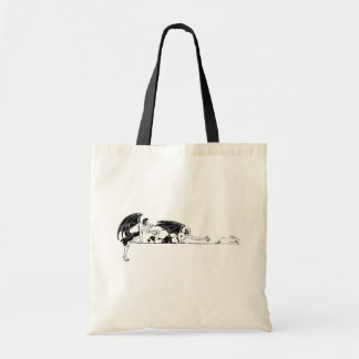 Devils And a Rabbit Tote Bag