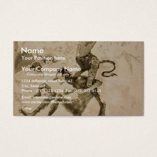 Devil's Auction Business Card