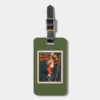 Devil's Auction Woman in Costume Theatre 2 Luggage Tag