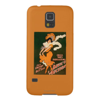 Devil's Auction Woman in Costume Theatre Case For Galaxy S5