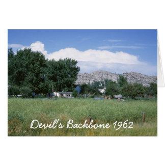 Devil's Backbone Greeting Card