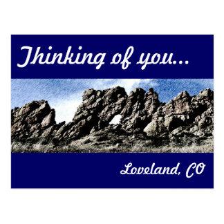 Devil's Backbone in Loveland, CO Post Cards