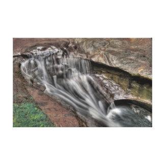 Devil's Bathtub, Hocking Hills, Ohio Canvas Print