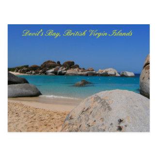 Devils Bay BVI Post Card