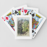 Devil's Bridge, 1810 (w/c with pen & ink over grap Bicycle Playing Cards