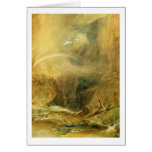 Devil's Bridge, St. Gotthard's Pass, c.1804 (w/c a Card