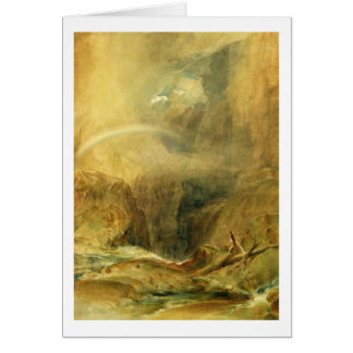 Devil's Bridge, St. Gotthard's Pass, c.1804 (w/c a Card