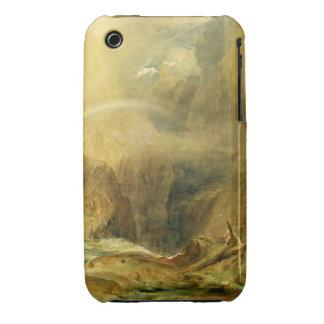 Devil's Bridge, St. Gotthard's Pass, c.1804 (w/c a iPhone 3 Case-Mate Case