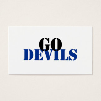 Devils Business Card
