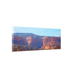 Devil's Canyon Canvas Print