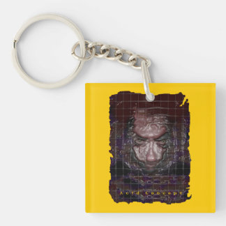 Devil's Chocolate Double-Sided Square Acrylic Keychain