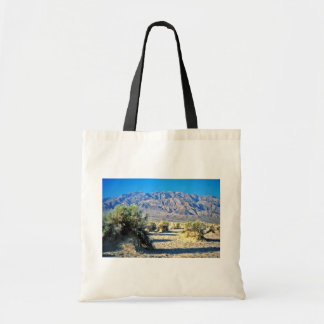 Devil's Cornfield And Panamint Mountains Tote Bag