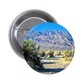 Devil's Cornfield And Panamint Mountains Pinback Buttons