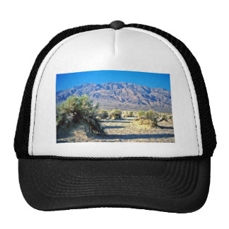 Devil's Cornfield And Panamint Mountains Mesh Hats