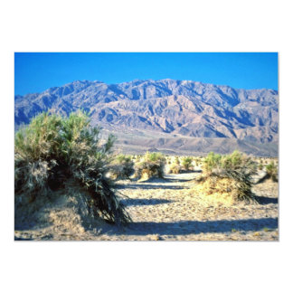 Devil's Cornfield And Panamint Mountains Custom Invitations